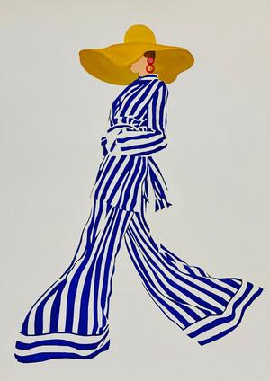 Lady&Stripes II