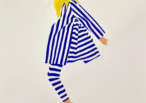 Lady&Stripes I