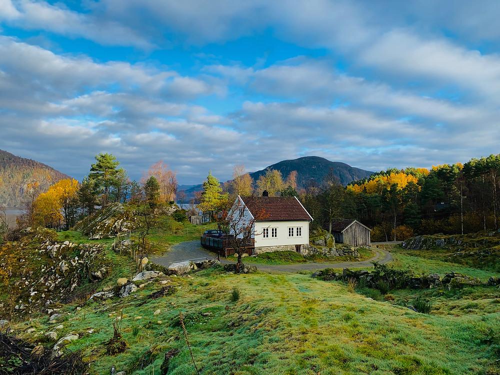 Airbnb in de fjorden van Noorwegen