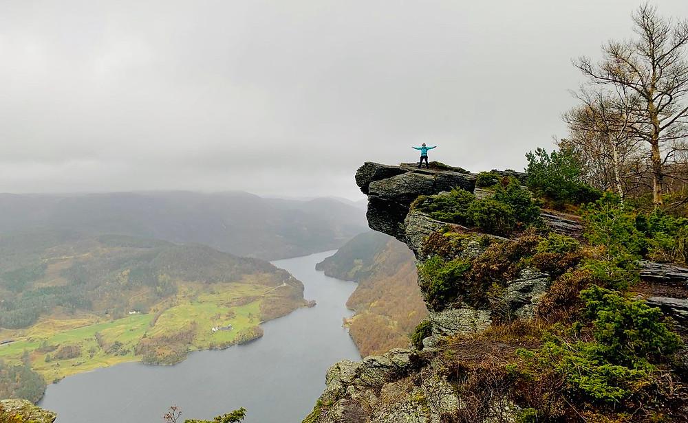 Himakånå in de Noorse fjorden
