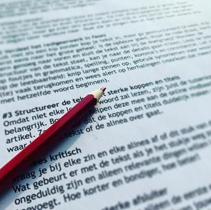 7 tips voor het redigeren van je eigen teksten
