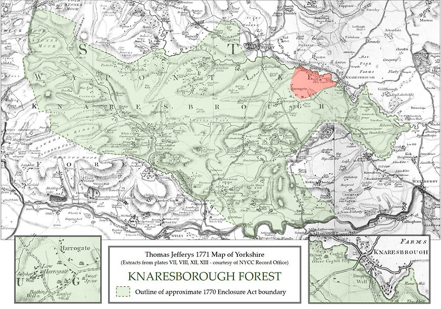 Old map knares.jpg