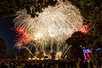 Newby Hall firework display