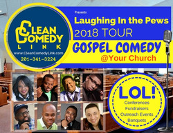 Laughing In The Pews 2018 insert