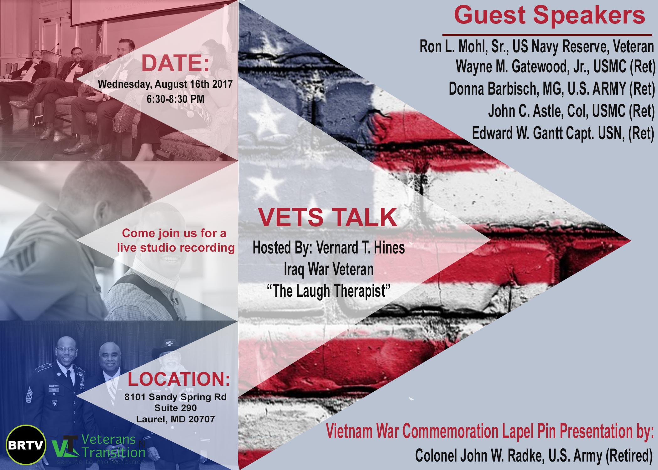 Vets Talk Flyer 8.16.17