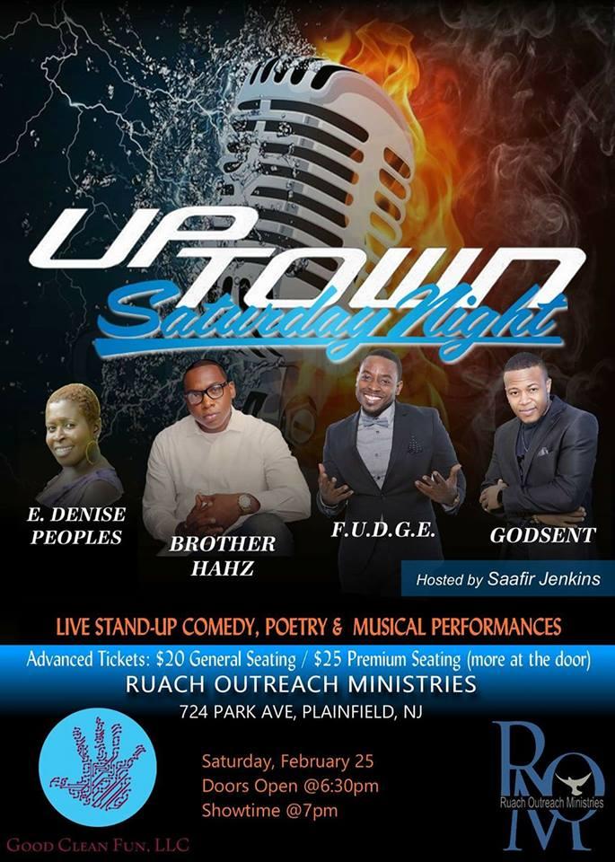 Uptown Saturday Night 2.25.17