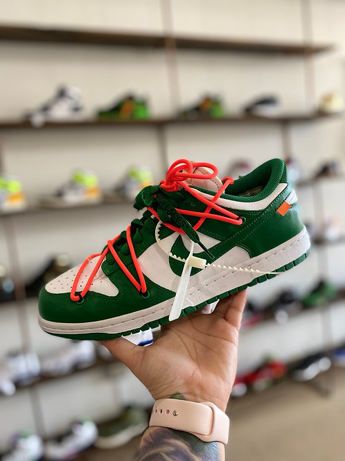 Off White Green Dunk
