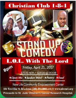 Comedy Flyer 4.21.17