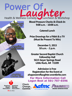 Power Of Laughter postcard 2015-2016