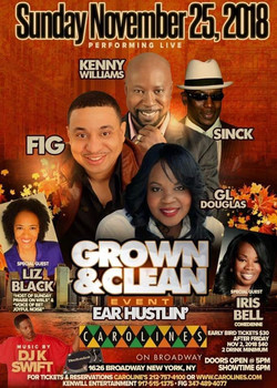 Grown n Clean Carolines 11 2018