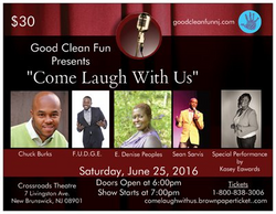 Come Laugh With Us 6.25.16