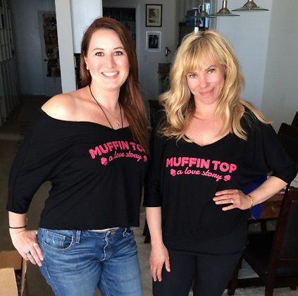 Black Muffin Top Shirt