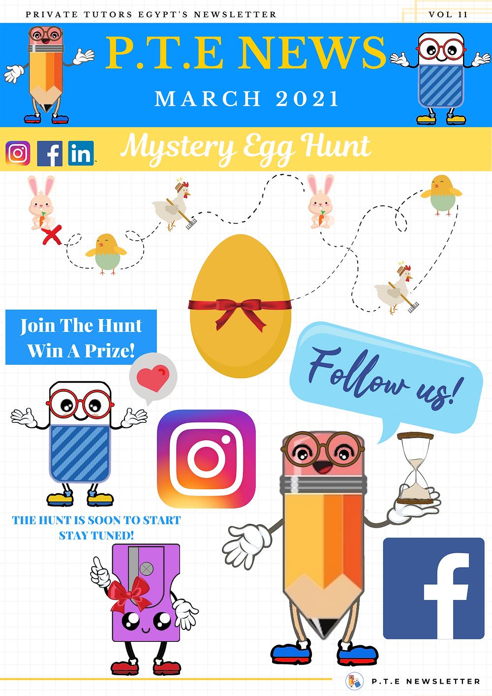 Mystery Egg Hunt