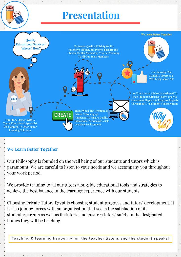 Private Tutors Egypt - Hiring Presentation