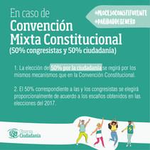 Ley de Paridad de Género en el Proceso Constituyente en caso de Convención Mixta Constitucional