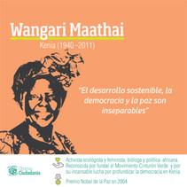LIDERES CIUDADANAS_Wangari Maathai