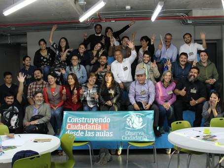 """Ciclo de capacitaciones para docentes y directivos: Módulo I """"Liderazgo ciudadano desde las aul"""