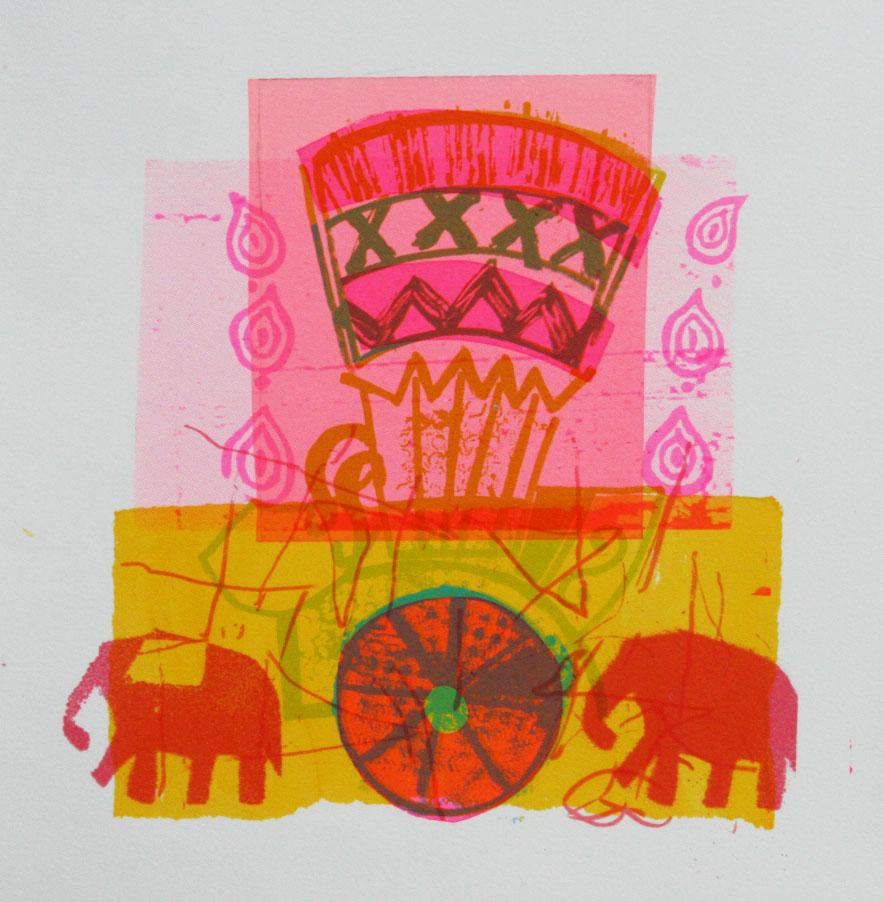 Pink Rickshaw