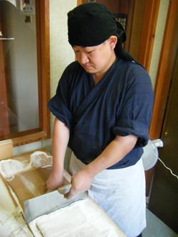 呉竹房 蕎麦打ち