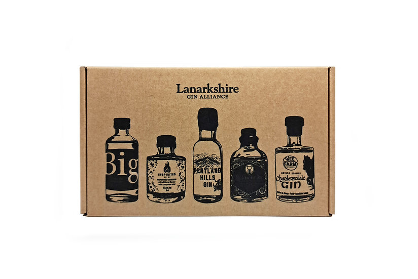 Lanarkshire Gin Alliance Set