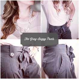 The GRAY Baggy Pants outfit ideas!
