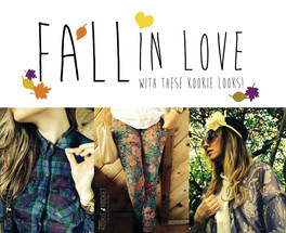 FALL IN LOVE LOOKS