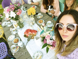 SPRING TRENDS IN TEA TIME