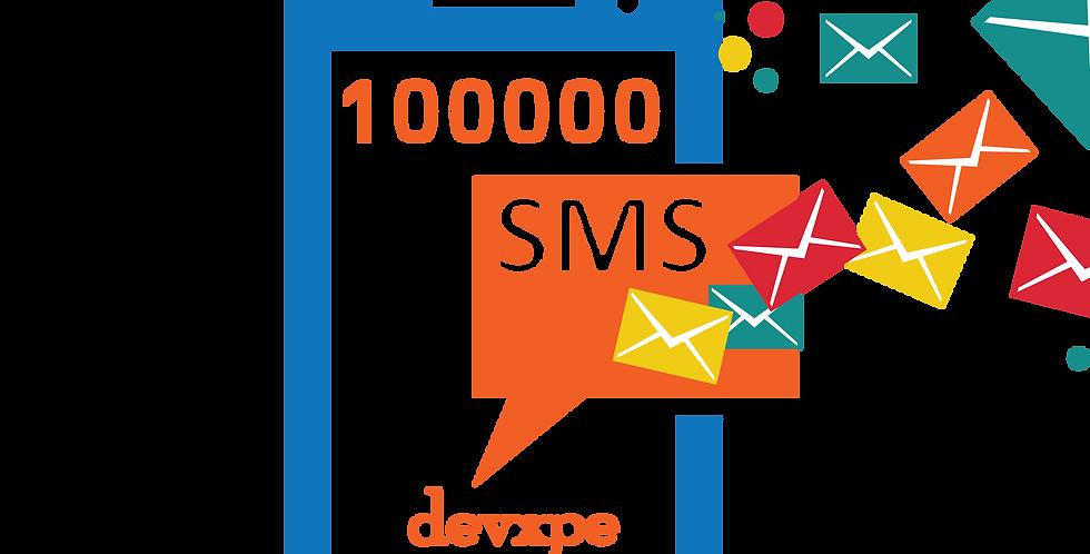 باقة رسائل 100,000