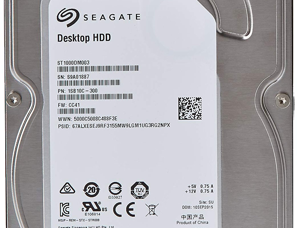 Internal HDD 500G