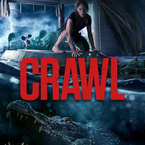 Crawl 2019. A Survival Horror Movie with plenty of Bite.