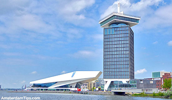 Eye museum en ADAM toren