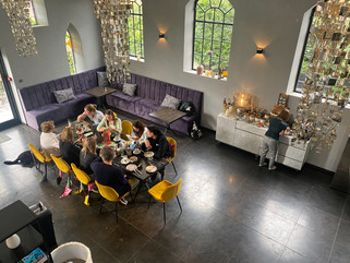 breakfast together at Valerius Boutique Hotel