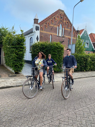 cycling round valerius boutique hotel