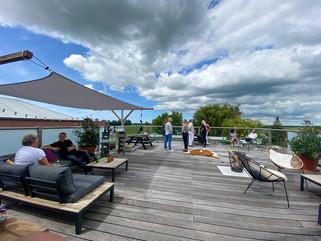 Roof terrace --valerius boutique hotel