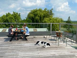 roof terrace breakfast appart