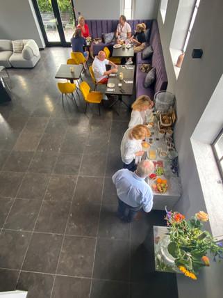 breakfast valerius boutique hotel