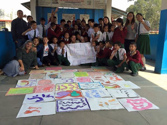Nepal - school - 2015