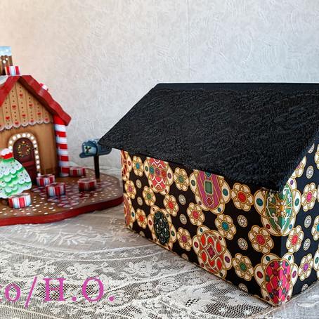 生徒様作品 ハウス型の箱