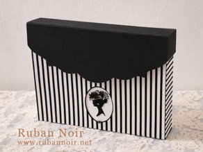 課題サンプル シルエット刺繍の道具箱