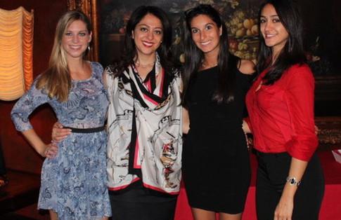 Christina Weber, Dr. Sara, Lauren Brenner, Saba Nasserzadeh