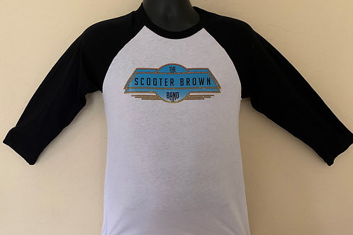 Scooter Brown Band Retro Logo Baseball