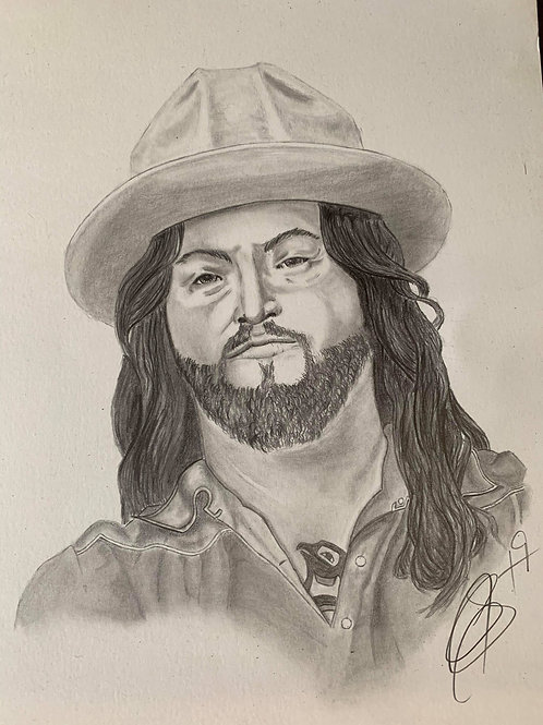 Scooter Brown Portrait by Carrigan Shields
