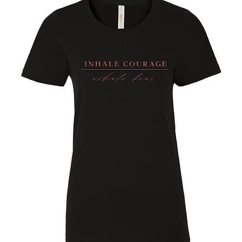 Inhale Courage Tshirt