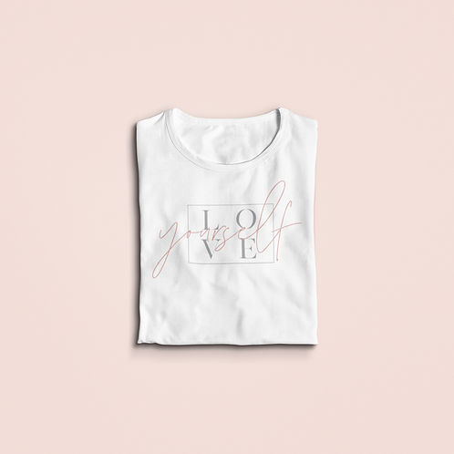 Youth&Toddler Love Yourself T-shirt