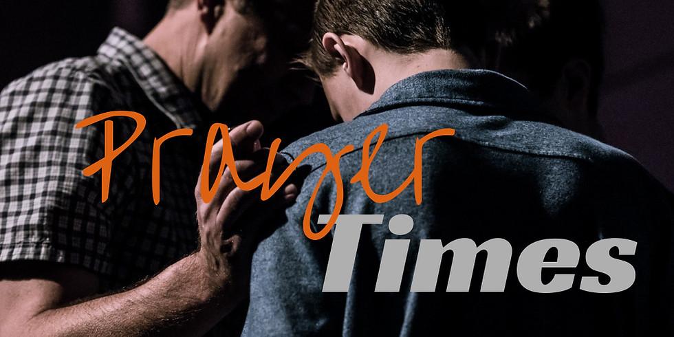 Weekly Prayer Times