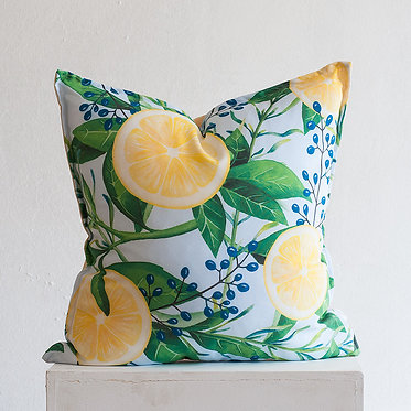 "Подушка ""Lemon leaf"""