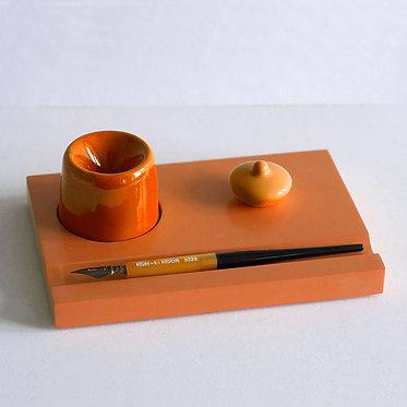 Набор предметов для чистописания (оранжевый)