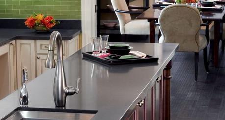 Кварцевая кухонная столешница 1220