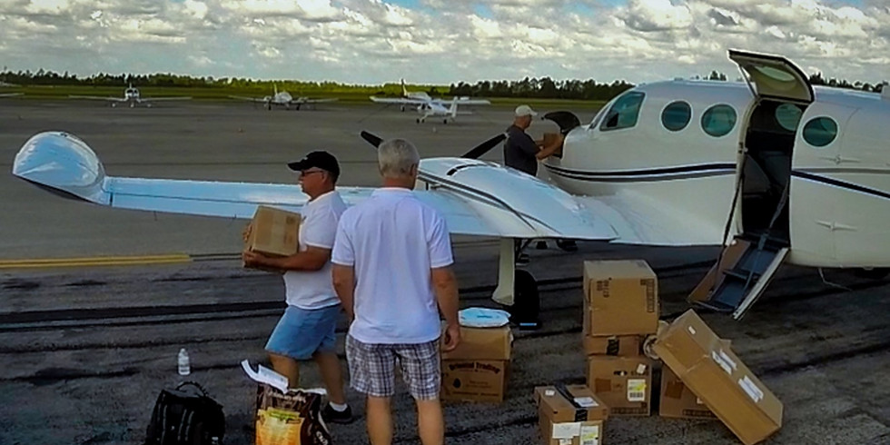 Supply Flight to the Islands