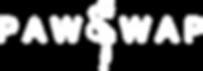 PawSwap logo in white
